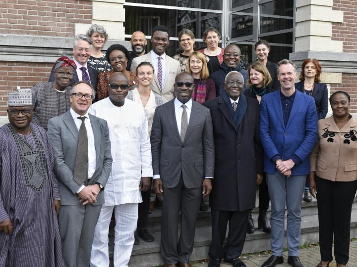 Group photo, Benin Dialogue Group, 19 October 2018. Photo: Peter Hilz